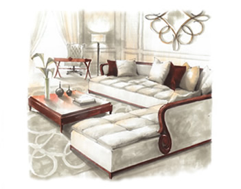 Christopher guy sofas refil sofa for Sofa bed jogja